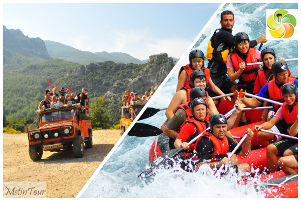 Jeep Safari i Rafting